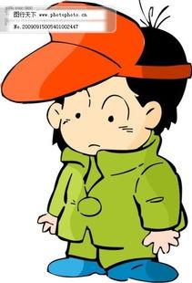 小男孩韩国漫画-小男生卡通人物