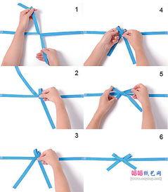 瓶子 礼物 礼盒包装的蝴蝶结包装方法 七种常见丝带蝴蝶结的系法图解