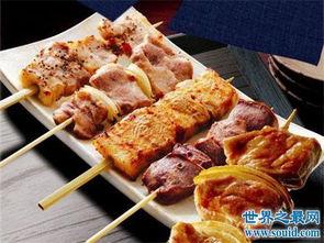 道来自日本的烤鸡肉串是全球九大最著名烤串之一,它的原材料可以是...