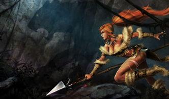 ...,丛林草中闪现死亡标枪.——狂野女猎手奈德丽-真真是极好的诗句...