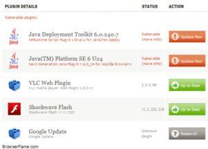 ...Fox已将高危Java Update 7插件加入黑名单