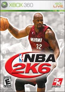 奥尼尔成为 NBA 2K6 封面人物