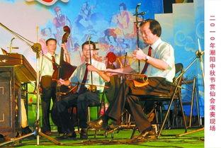 让人仿若置身于远古时代.演奏者都是潮阳区东信文艺协会的成员,...