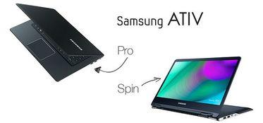 ...线消息:近日,三星推出了AtivBookPro和AtivBook9Spin笔记本新品...