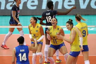 世界女排大奖赛 巴西3比2胜意大利 累计第12次夺冠