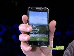 ... 微软展示四款WP7 Mango手机