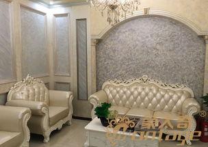 4个DIY沙发背景墙 获得些许灵感