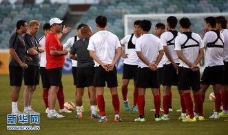 ...组赛 中国对阵朝鲜 两队忙备战