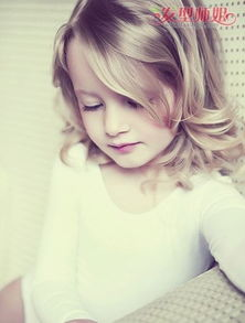 女童可以烫发么 儿童烫发造型