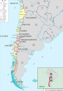 秘鲁地图-狭长国家以一敌二 把邻国打成内陆国