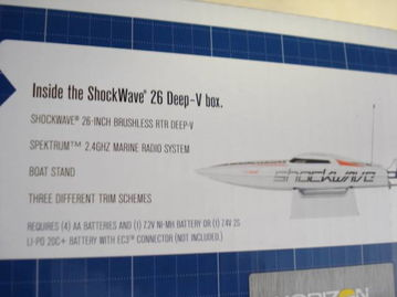 boatrun-ready shock boat wave