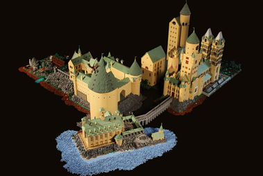 ...万块乐高积木 搭建出霍格华兹魔法学校