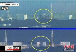 ...站3号机组当地时间上午11点过后发生氢气爆炸.nhk电视台画面显示...