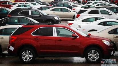 加拿大8月轻型车销量上涨7.9 轿车增长依然乏力