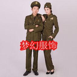 ...女军官演出服 国民党女特务服装 国民党军装演出服 舞台表演服