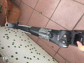 ...42超轻碳刀 美利达斯特拉team xs码车架bmc fs01 26寸s码软尾车架...