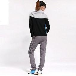 灰色棉面运动裤配什么上衣,配深灰色的颜色好看吗