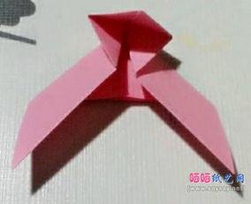 简易儿童折纸飞镖的折法图文教程 其它折纸 二