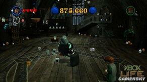 鬼魂的带领前往海格的家触发剧情动画.游戏控制权回到玩家手上后,...