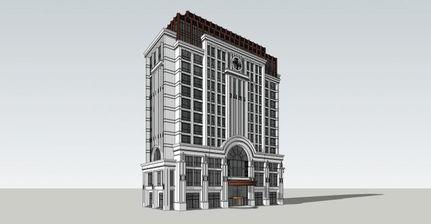 星级酒店 SketchUp模型库 SketchUp吧 SketchUp中国门户网站