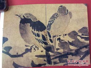 林良花鸟画 明信片册 整套23张,2002年出版