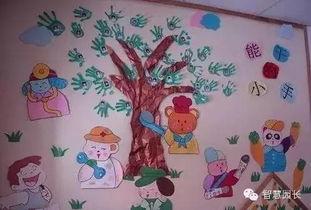幼儿园五一手工主题墙来了