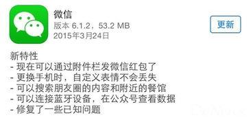 微信最新升级至6.1.2 修复返回键失灵等BUG