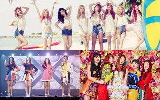 少女时代 f Red Velvet入选Billboard 伟大女团歌曲