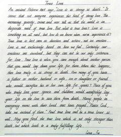 有哪些好看的英文手写字体