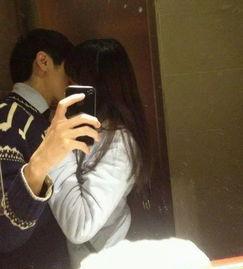个性网情侣接吻