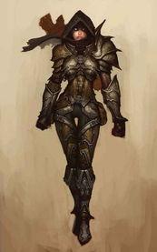 另一个位面的希尔瓦娜斯   恶魔猎手并不是字面意思上的