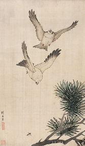 600钤印怡园蝶隐款识刘奎龄.备