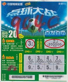 刮刮乐中奖彩票-神了 一站点半月出两个 点球大战 20万