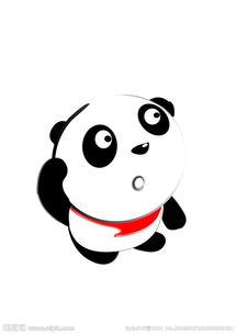 可爱卡通小熊猫图片