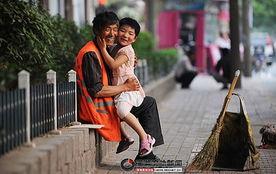 江苏省徐州 幸福环卫工 张景和患癌去世