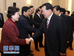 李长春看望文化界知名人士