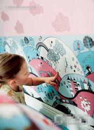 色撸撸漫画-3.如果既想购买现成的漂亮壁纸,又想留给孩子自由发挥的空间,不如...