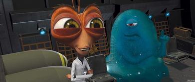 动态图27报后入式-《大战外星人》精彩剧照_030   梦工厂09年的3D动画大作《大战外星...