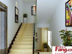 2017两层楼楼梯设计图 房天下装修效果图