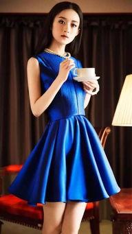 色撸撸色色网撸撸色网-娱圈女星身穿蓝色裙子 杨幂戚薇美翻天 最后一位完败