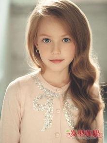 小女孩蛋卷烫发型图片 儿童可爱蛋卷头发型 发型师姐