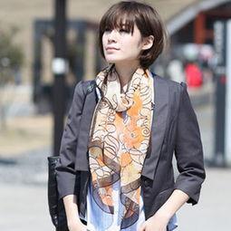 长条丝巾的系法图解 系出浪漫优雅名媛范儿
