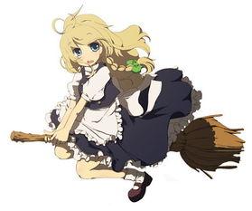 变装派对里,骑扫帚的女巫是万圣节的经典形象,在不少影视动漫里都...