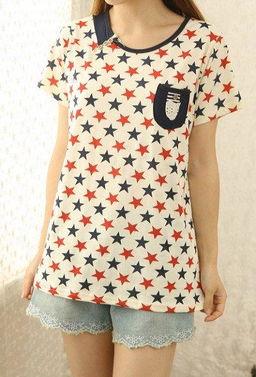 ...口袋短袖T恤特072 简单网www.J.cn