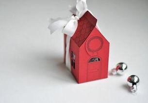 漂亮的手工折纸礼物包装盒子