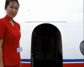 朝鲜高丽航空首次公开客机内景 空姐青春靓丽