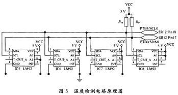 电路的设计使用MC68HC908SR12单片机PORT A(PTA0~PTA5)端口的...
