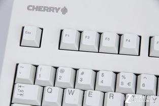 Cherry G80-3000 茶轴机械键盘所使用的PBT键帽 拥有最强的综合实力...