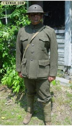一战中的美军军服