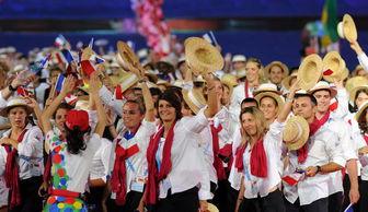 ...年、第二十六届世界大学生夏季运运会开幕式仪式正式开始.国家主...